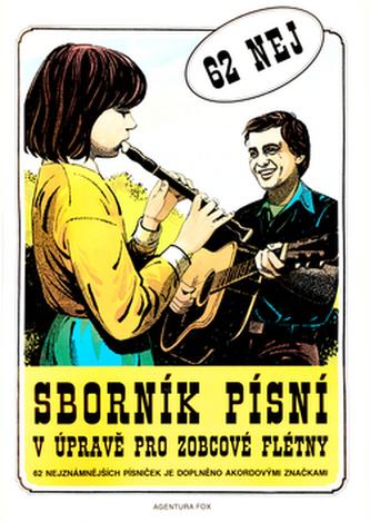 Sborník písní v úpravě pro zobcové flétny 1.díl