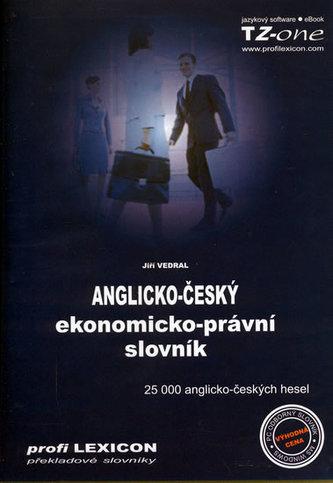 Anglicko-český ekonomicko-právní slovník - Jiří Vedral