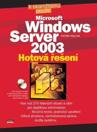 Microsoft Windows Server 2003 - Patrik Malina