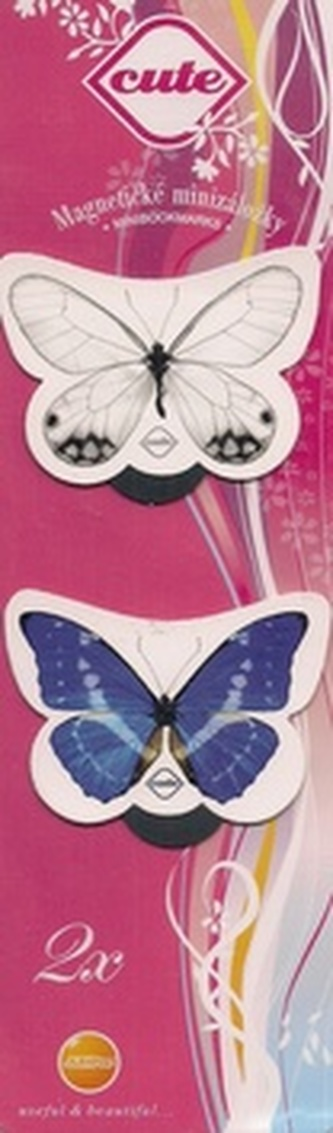 Magnetická záložka Motýli - CT 001