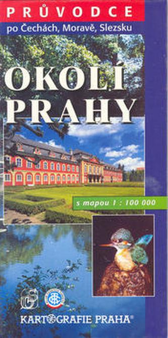 Okolí Prahy s mapou 1:100 000