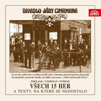 CD-Všech 15 her a texty, na které se nedostalo - Smoljak Ladislav