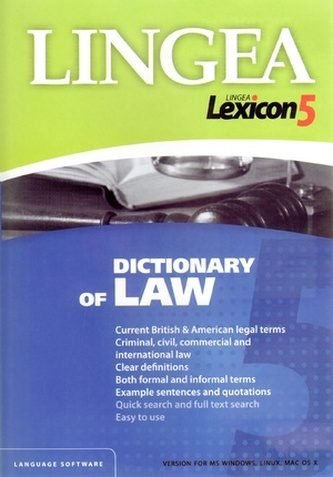 CDROM - Dictionary of Law