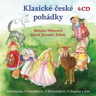 CD-Klasické české pohádky - Erben Karel Jaromír